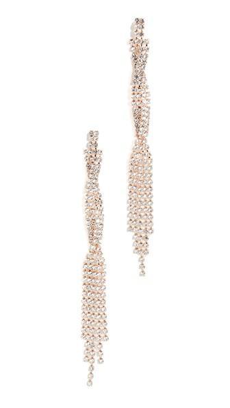 Jules Smith Factor Hoop Earrings In Gold