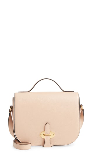8e81969257 Add some instant polish to any look with this structured crossbody bag  crafted in Italy from lightly glazed calfskin and finished with nostalgic  tab-lock ...