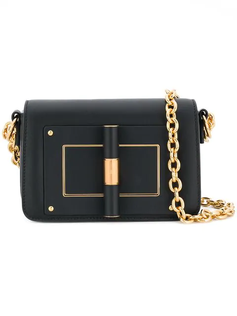 Tom Ford Natalia Shoulder Bag In Black