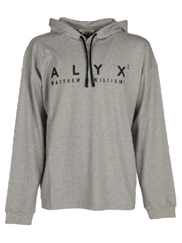 Alyx Hooded Sweatshirt Alix In Grey