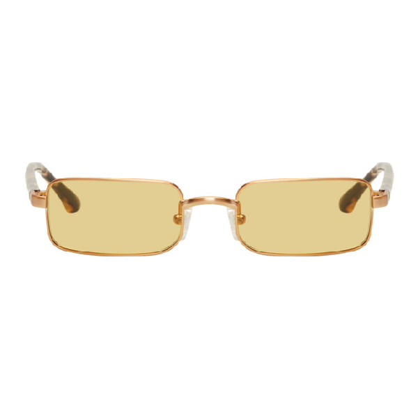 1b66ef1e661 Dries Van Noten Gold Linda Farrow Edition 139 C3 Sunglasses