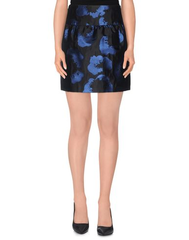 Jil Sander Mini Skirts In Blue