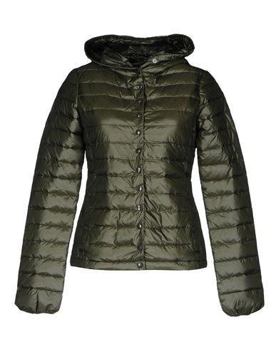 Duvetica Down Jacket In Dark Green