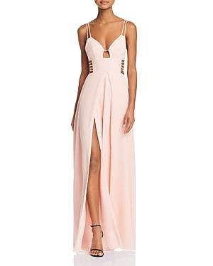 Fame And Partners The Megan Dress In Pale Pink