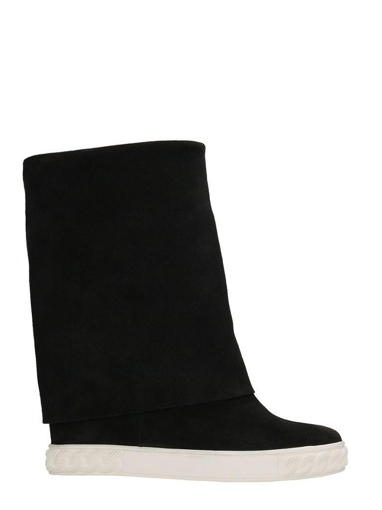 Casadei Black Suede Sneakers