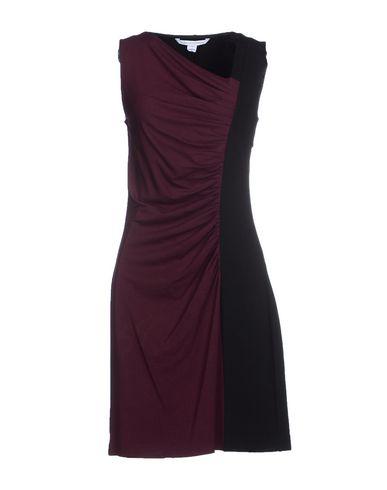 Diane Von Furstenberg Short Dress In Deep Purple