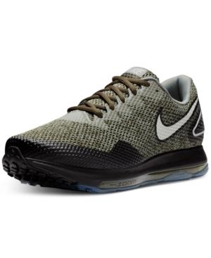 info for 90e99 42d4f Nike Men s Zoom All Out Low 2 Running Sneakers From Finish Line In Cargo  Khaki