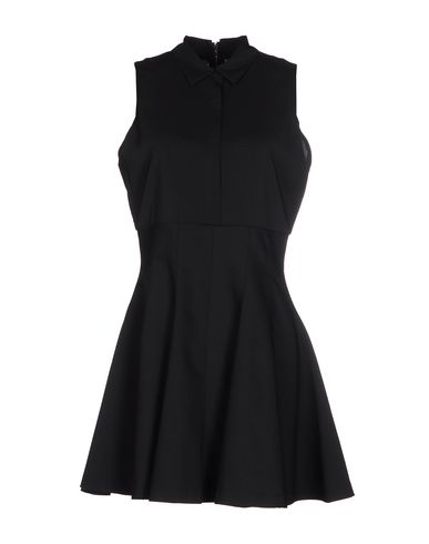 Alice And Olivia Shirt Dress In Black