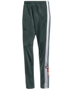 55bf8b1a2a6ae Adidas Originals Men's Adibreak Snap Track Pants In Green Night ...