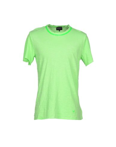 Emporio Armani T-shirt In Light Green