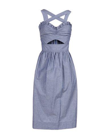 Jill Stuart Midi Dress In Blue