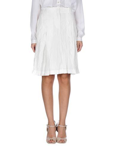 Acne Studios Knee Length Skirts In White