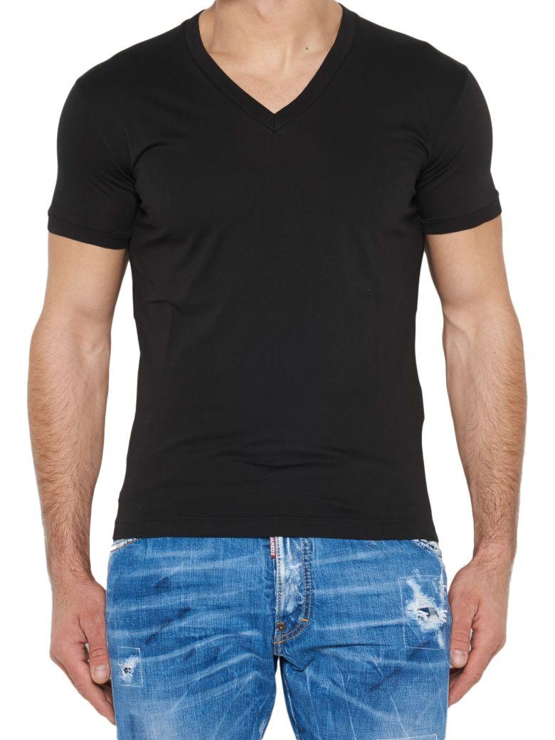 Dsquared2 Cotton T-Shirt In Black
