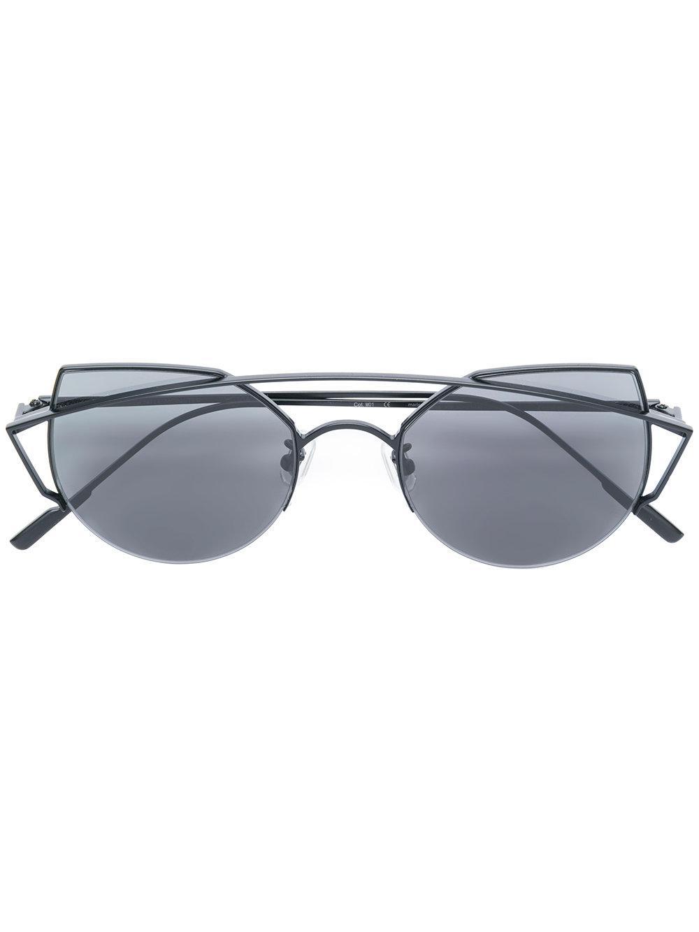 Gentle Monster Thinker Sunglasses - Black