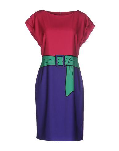 Boutique Moschino Short Dress In Garnet