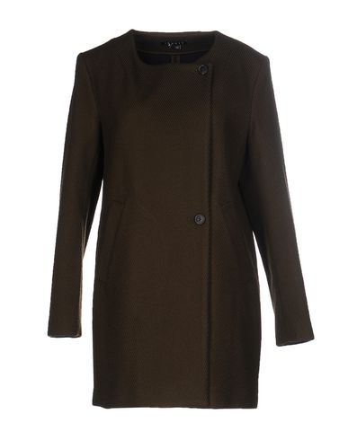 Theory Coat In Military Green