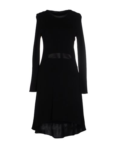 Karl Lagerfeld Knee-length Dresses In Black