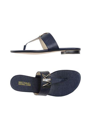 Michael Michael Kors Sandals In Dark Blue