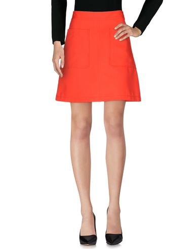 Marc By Marc Jacobs Knee Length Skirt In Orange