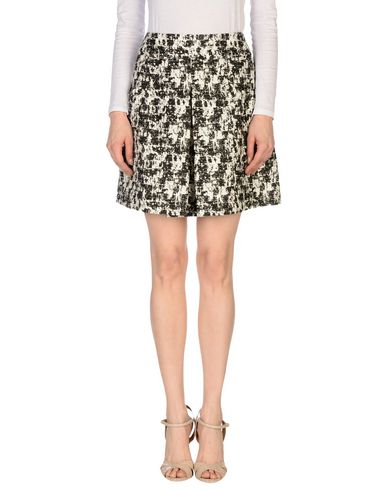 Oscar De La Renta Knee Length Skirt In Black