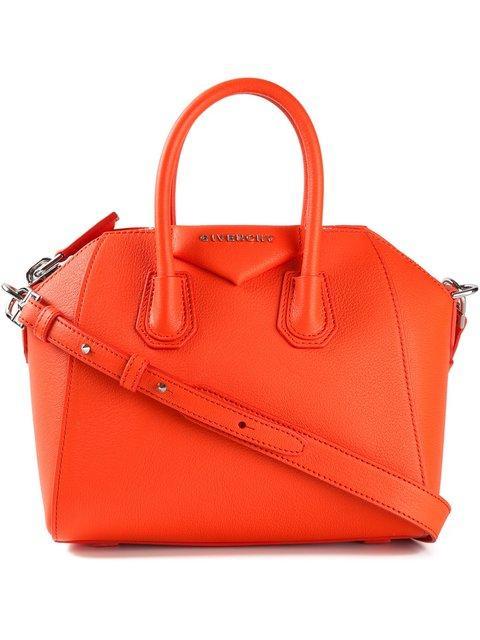 Givenchy Red Mini Antiogna Bag