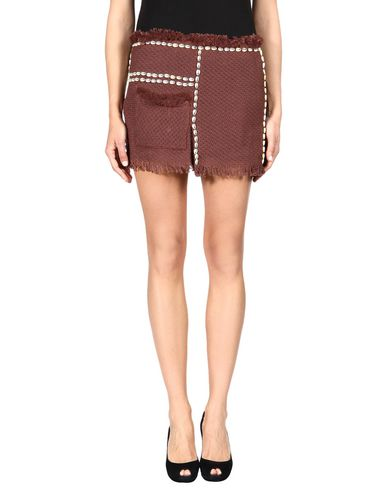 Isabel Marant Mini Skirts In Rust