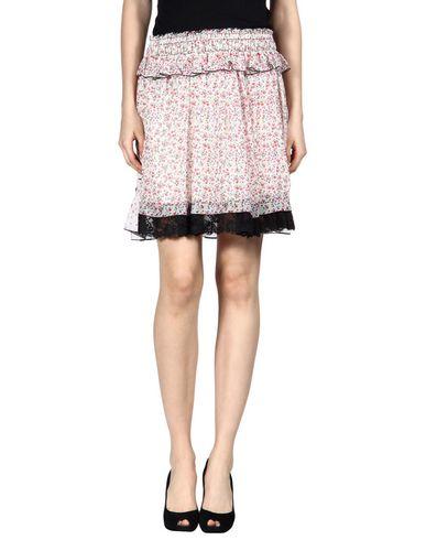 Marc Jacobs Knee Length Skirt In White