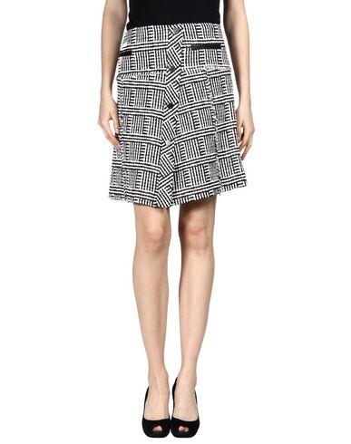 Proenza Schouler Knee Length Skirt In White