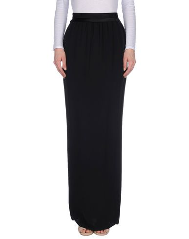 Lanvin Maxi Skirts In Black