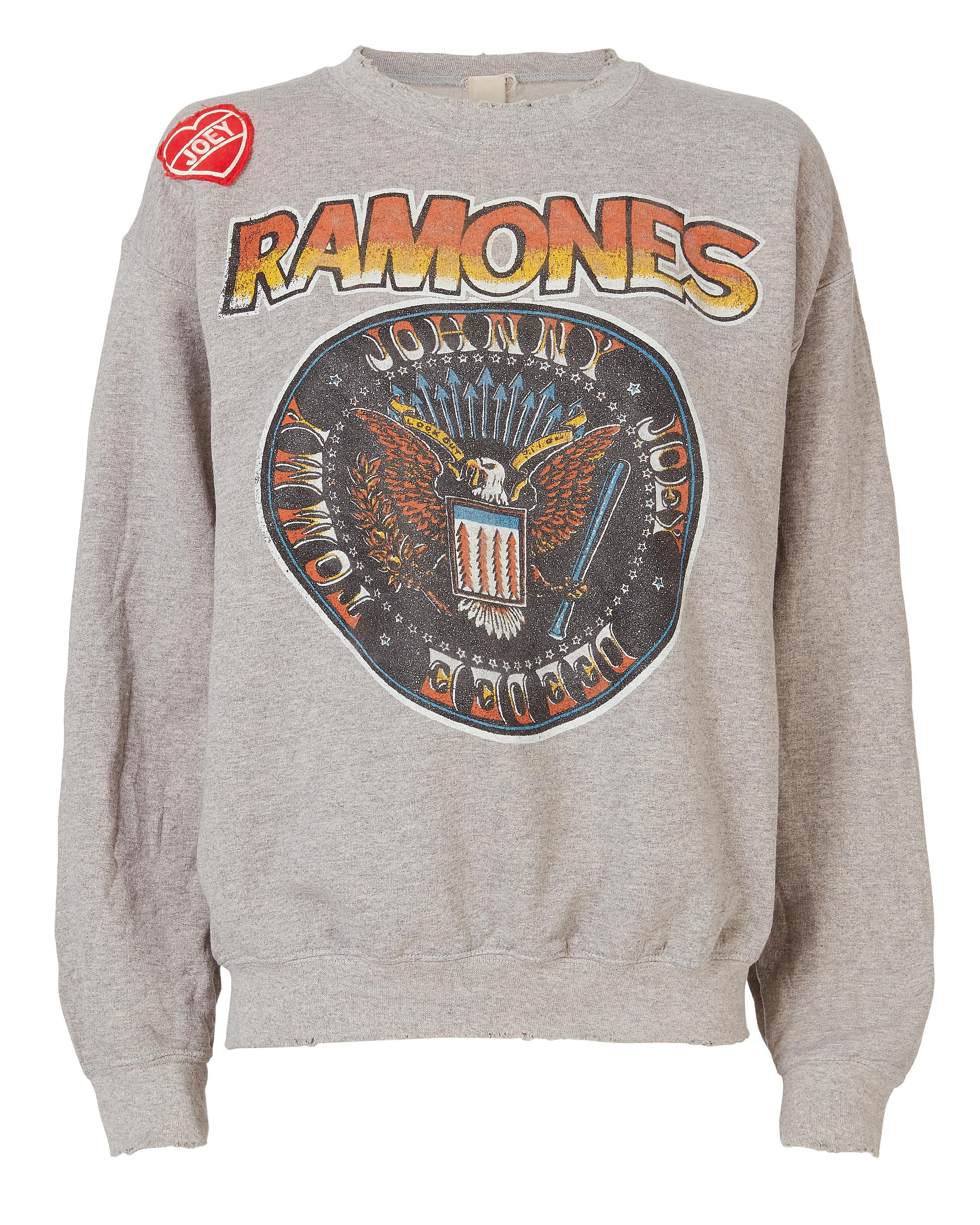 fca9018b7ce Made Worn Joey Patch Ramones Sweatshirt | ModeSens
