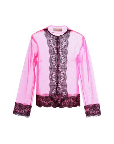 Christopher Kane Lace Shirts & Blouses In Fuchsia