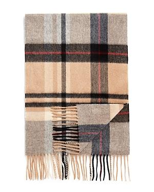 5193ef3e34cc5 The Men's Store At Bloomingdale's Cashmere Big Plaid Scarf In Camel/Deep  Wine