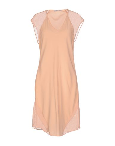 T By Alexander Wang Short Dresses In Salmon Pink