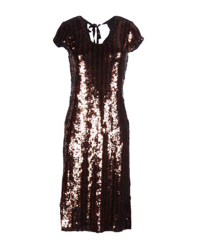 Marc Jacobs Knee-Length Dress In Copper