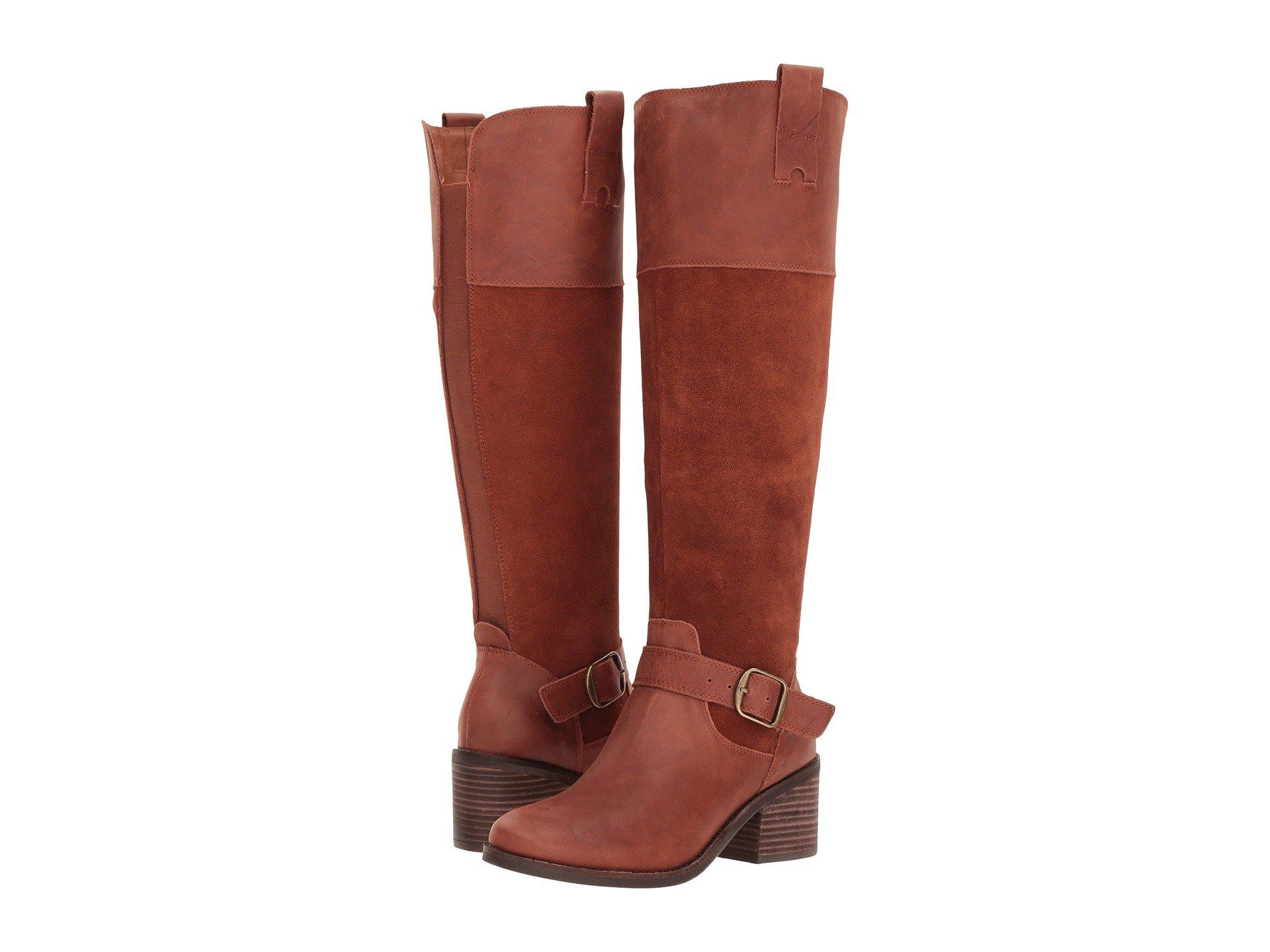 8a52d5fe7da Women'S Kailan Wide-Calf Riding Boots Women'S Shoes in Rye Wide