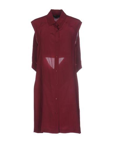 Alexander Wang Short Dresses In Garnet