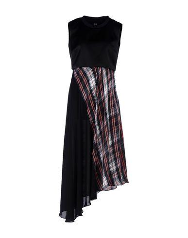 Alexander Mcqueen Knee-length Dresses In Black