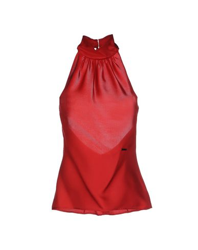 Dsquared2 Silk Top In Red