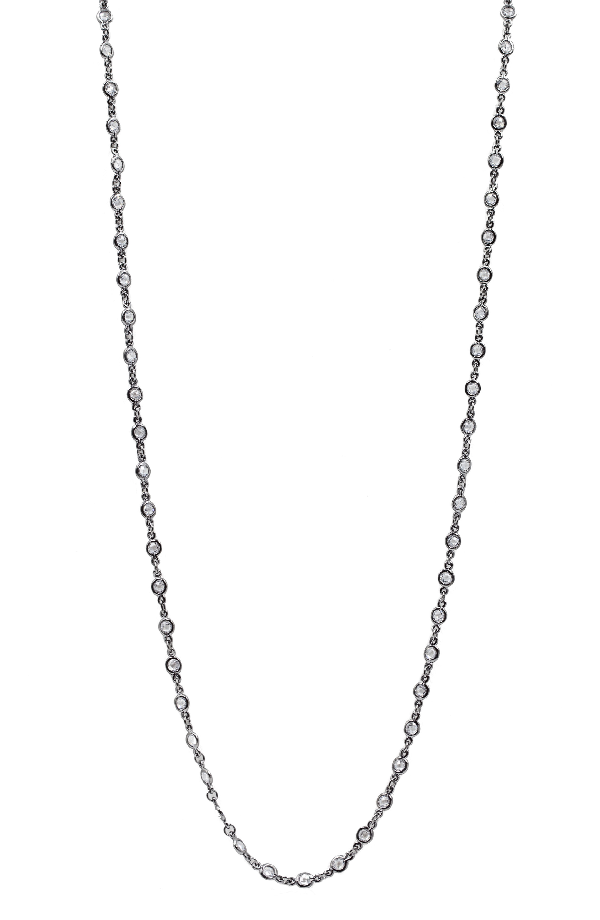 Freida Rothman Signature Radiance Necklace In Black