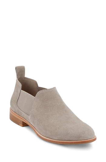 G.h. Bass & Co. Brooke Chelsea Bootie In Grey Suede