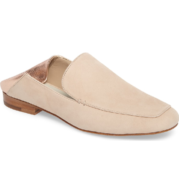 1.state Faun Drop Heel Loafer In Cipria Leather