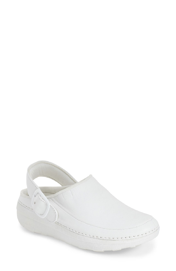 Fitflop Gogh Pro - Superlight Clog In White Leather