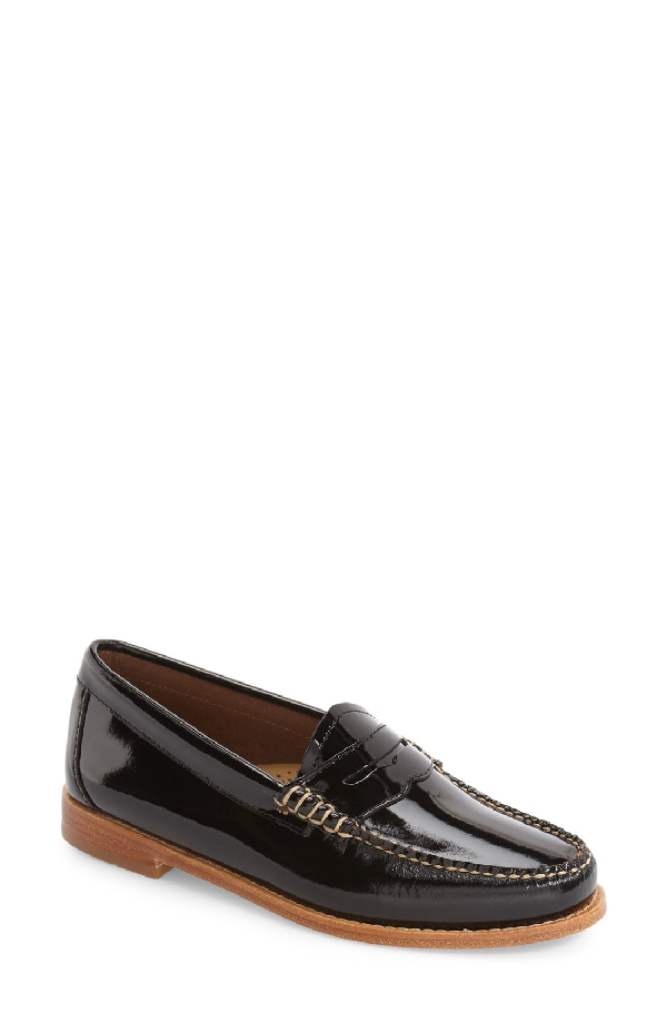 G.h. Bass & Co. 'whitney' Loafer In Black Patent