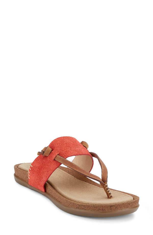 G.h. Bass & Co. Shannon Sandal In Poppy Leather