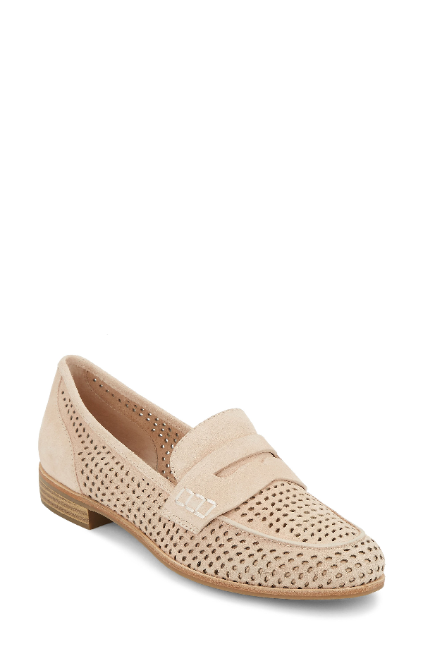 G.h. Bass & Co. Ellie Loafer In Rose Suede
