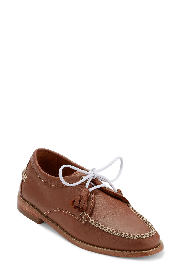 G.h. Bass & Co. 'winnie' Leather Oxford In Tan Leather