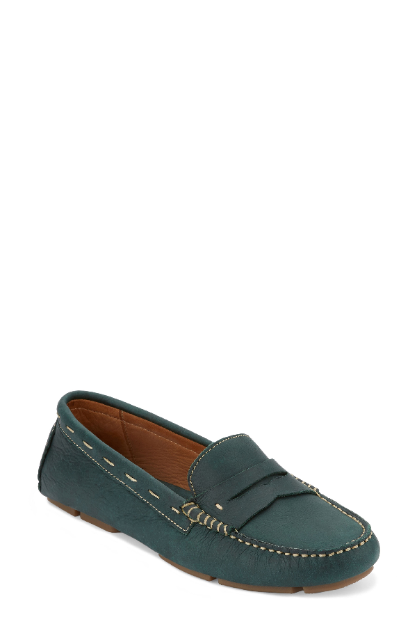 G.h. Bass & Co. Patricia Driving Moccasin In Pine Leather
