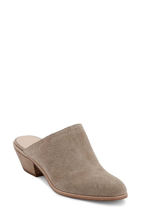 G.h. Bass & Co. Women's Nikki Mules Women's Shoes In Cloud Grey Suede