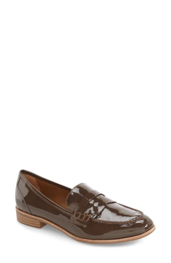G.h. Bass & Co. Emilia Penny Loafer In Mocha Patent