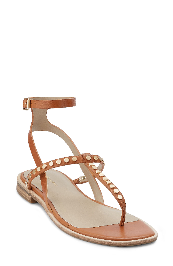 G.h. Bass & Co. Michelle Sandal In Cognac Leather
